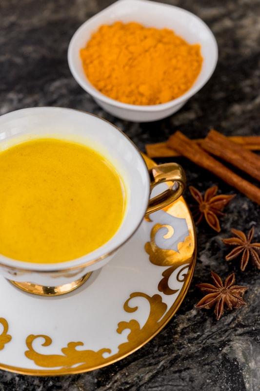 Anti-Inflammatory Coconut Turmeric Tea